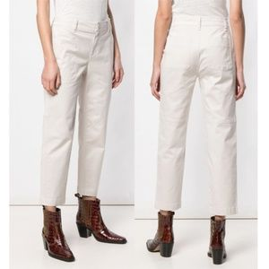 Vince Cropped Chinos Size 0 NWT
